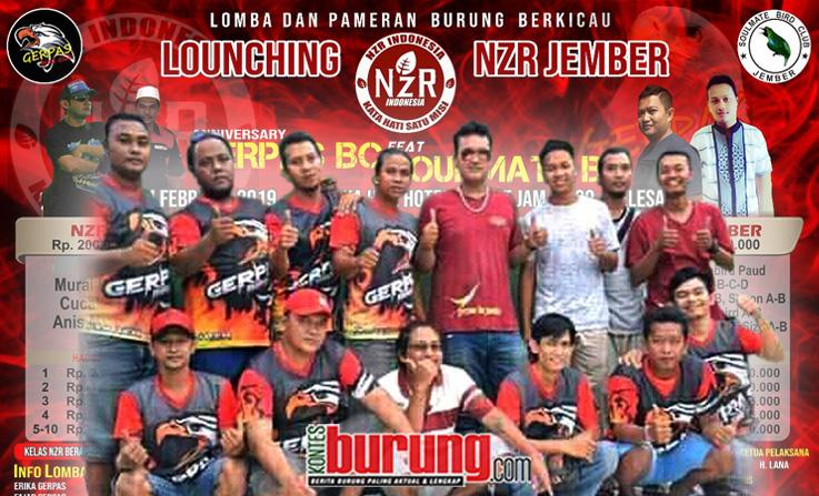 Jelang Launching NzR Jember dan Anniversary Gerpas BC