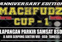 Anniversary Machfudz Cup 1 Tangerang