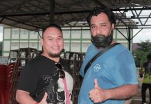 Owner Gantangan AUBRY Samarinda H. Hendry dan Mr. Fajar